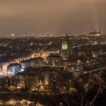 Stověžatá Praha