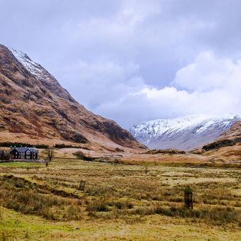 Skyfall, Highlands, Skotsko