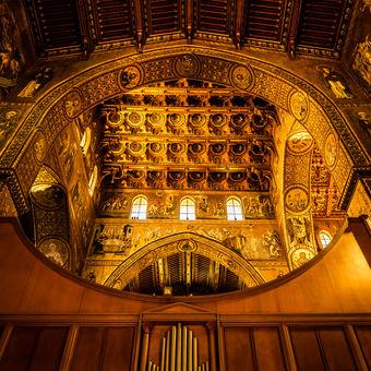 Sicília, katedrála Monreale
