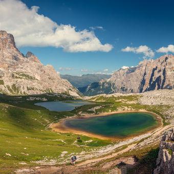 Cestou kolem horských jezer
