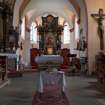 ...kostel sv. Kateřiny...
