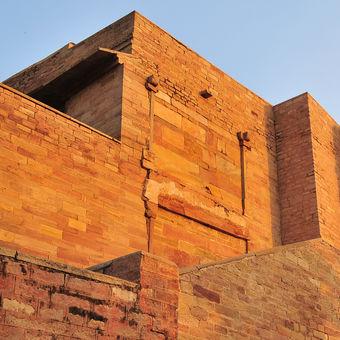 Pevnost v Khajurahu