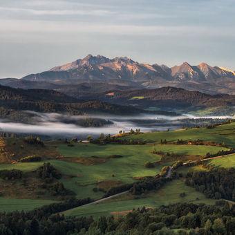 Jesenné ráno v Pieninách