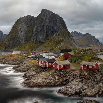 Hamnoy, nejikoničtější vesnice na norských Lofotech