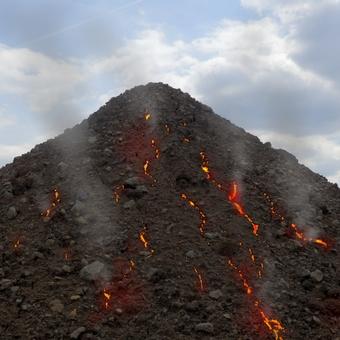 Vulkán u nás za barákem