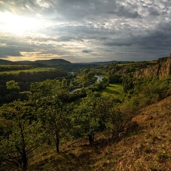 údolí Berounky