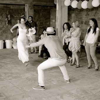 hříšný svatební tanec ...