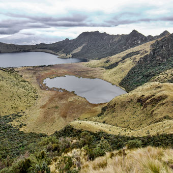 Mojanda lakes