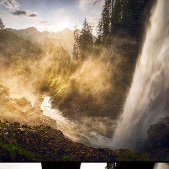 Za vodopádem