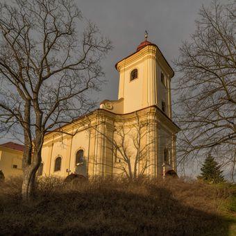 Kostel svatého Jakuba Staršího - Plesná
