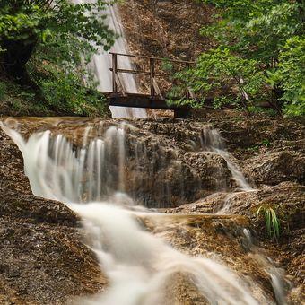 Vodopád u Attersee