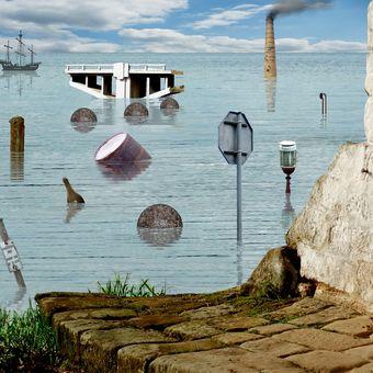 V pobřežních vodách