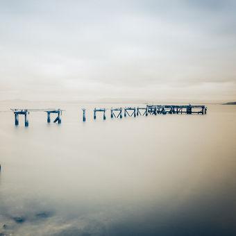Aberdour jetty surreal