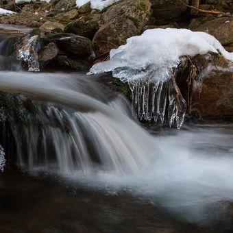 Zimní Bílý potok