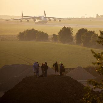 Antonov AN-225 - Letiště Václava Havla v Praze