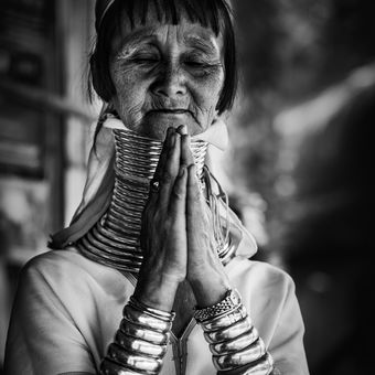 Kayan Lahwi žena