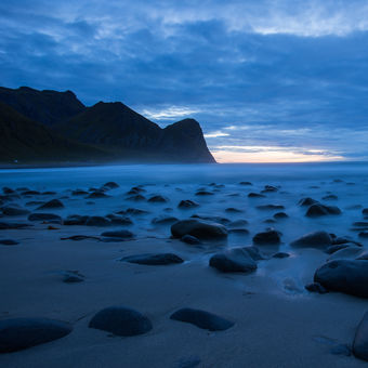 Unstad strand