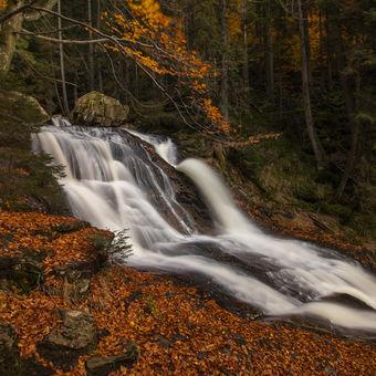 Riesloch v podzimních barvách