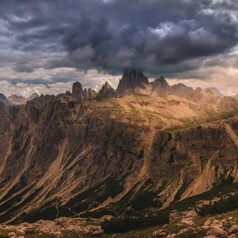 Majestátní Dolomity