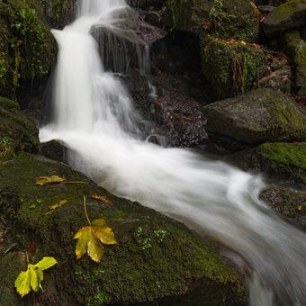 Vodopád Bystřička