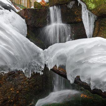 Zimní ledopadání