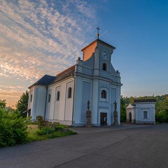 Kostel sv.Petra z Alkantary
