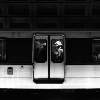 Stormtrooper in the metro