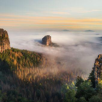 Saské údolí