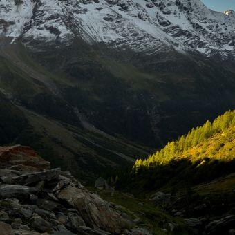 Bietschhorn 3934 metrů