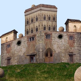 Průvodce po hradech a zámcích 10 - Hrádek Kulová Lhota