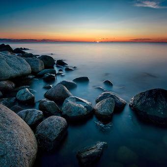 Západ slunce na Ölandu