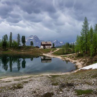 Panorama Lago Fedéra