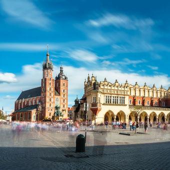 Velikonoční provoz v Krakově