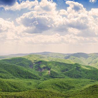 Vysoka (Male Karpaty) - 754 m n. m.