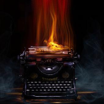 V ohni