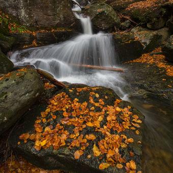 Vodopád v Bavorském lese
