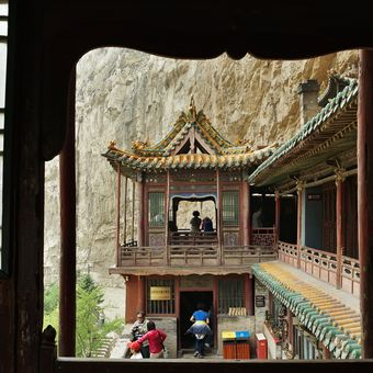 Hanging Temple in Mt. Hengsham  II.