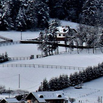 Zima v údolí