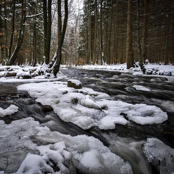 Zimní Klabava