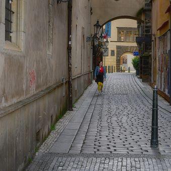 V uličkách staroměstských