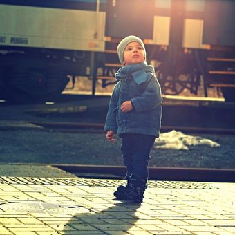 ...do správného vlaku