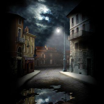 Tmavá ulička