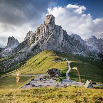 Passo di Giau, Dolomity, Itálie