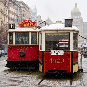 Praha posněžená V