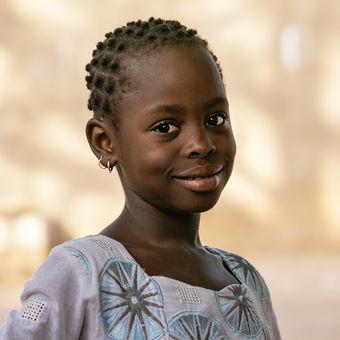Dievča z Ngaparou