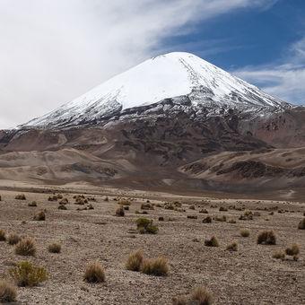 vulkán Parinacota