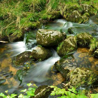Josefův Důl řeka kamenice llll