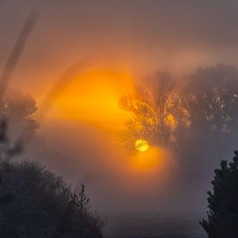 První letošní mrazivé ráno