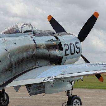 Douglas A1 Skyraider - detail