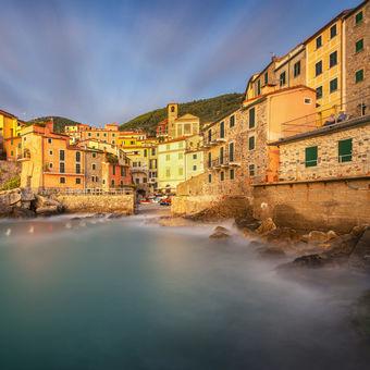 Rybářská vesnička Tellaro v italské Ligurii :-)